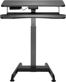 LogiLink elektrisch höhenverstellbarer Schreibtisch, Sitz-Steh-Schreibtisch (EO0014)