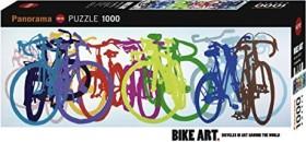 Heye Puzzle Bike Art Colourful Row (29737)