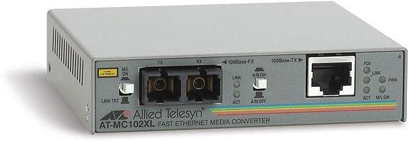 Allied Telesis AT-MC102XL, 100Base-TX auf 100Base-FX (2km) (AT-MC102XL)