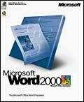 Microsoft: Word 2000 (English) (PC) (059-01822)