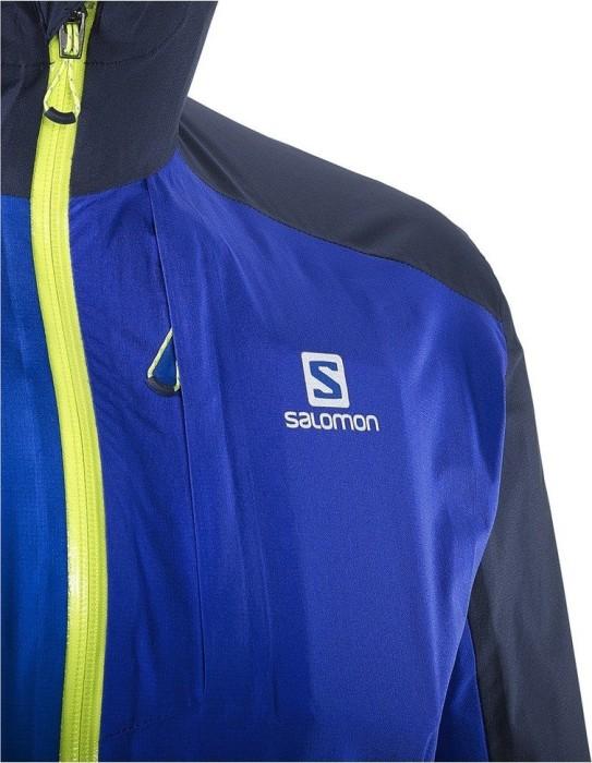 Salomon Bonatti WP Laufjacke surf the webdress blue
