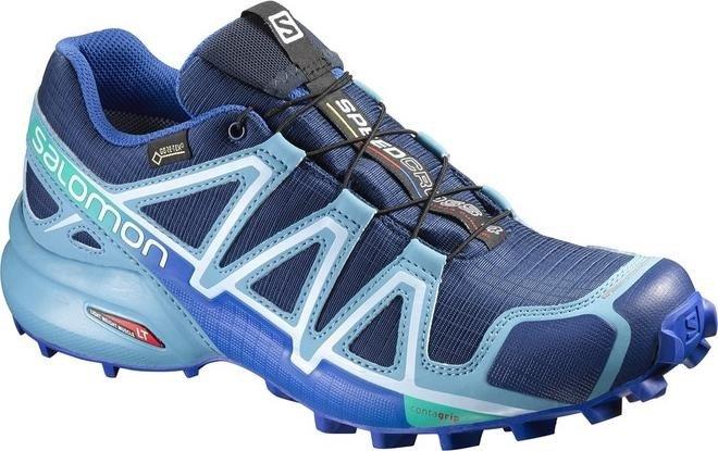 2019 am besten so billig Markenqualität Salomon Speedcross 4 GTX blue depth/blue gum/blue yonder (Damen) (383082)  ab € 99,95