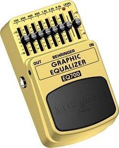 Behringer EQ700 Graphic equalizer -- © Copyright 200x, Behringer International GmbH