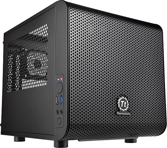 Thermaltake Core V1, Acrylfenster, Mini-ITX (CA-1B8-00S1WN-00)