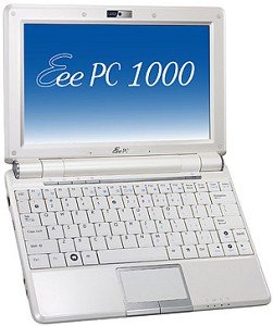 ASUS Eee PC 1000H white (90OA0HB63311A38E121Q)