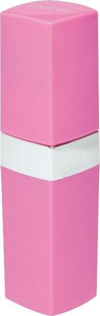 LogiLink Mobile Power Bank 2600 pink (PA0129)