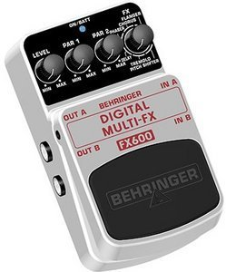 Behringer FX600 multi effects pedal -- © Copyright 200x, Behringer International GmbH