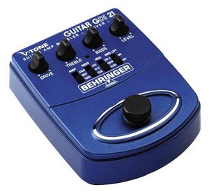 Behringer GDI21 V-Tone-Guitar -- © Copyright 200x, Behringer International GmbH