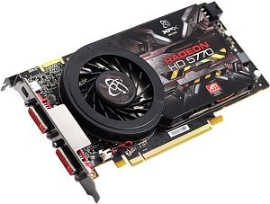 XFX Radeon HD 5770 XFX-Design single-slot, 1GB GDDR5, 2x DVI, mini DisplayPort (HD-577X-ZMF3)