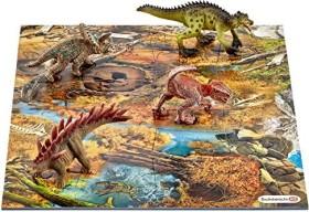 Schleich Dinosaurs - Mini Dinos mit Puzzle Sumpfgebiet (42331)