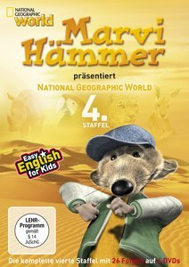 Marvi Hammers presents National Geographic World Season 4
