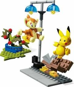 Mattel Mega Construx Pokémon Chimchar vs. Pikachu (GCN12)