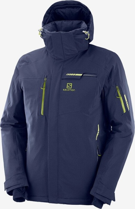 Salomon Brilliant Skijacke night sky (Herren) (C11920) 3P5Da