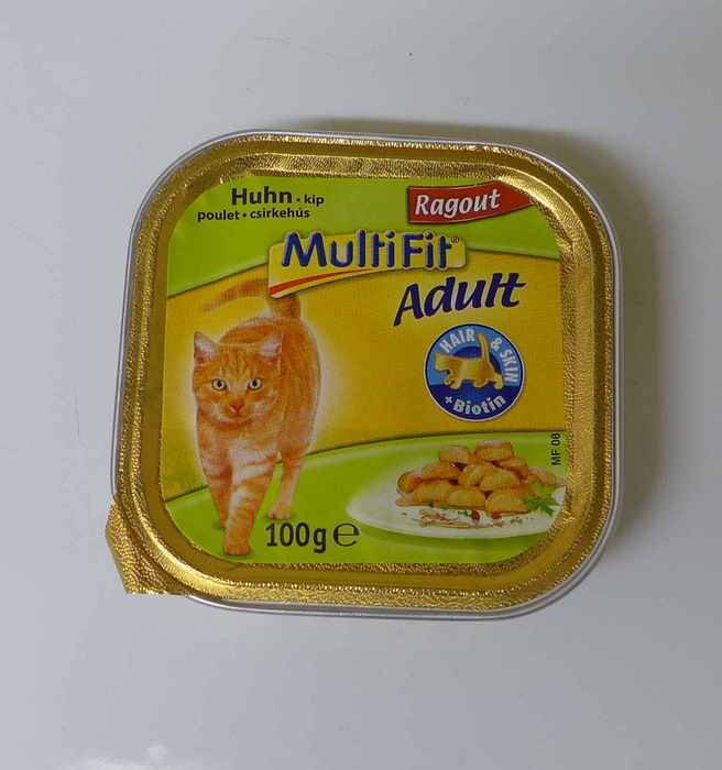 MultiFit Adult Ragout with chicken 1600g (16x 100g) -- provided by bepixelung.org - see http://bepixelung.org/21815 for copyright and usage information