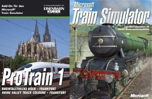 Microsoft Train Simulator Bundle (inkl. Add-on ProTrain 1) (niemiecki) (PC)