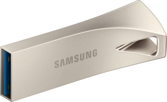 Samsung USB Stick Bar Plus Champagne Silver 32GB, USB-A 3.0 (MUF-32BE3/EU)