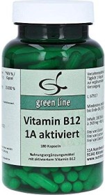 11A Nutritheke Vitamin B12 1A aktiviert Kapseln, 180 Stück