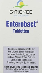 Synomed Enterobact Tabletten, 120 Stück