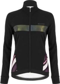 Santini Coral Raggio Fahrradjacke schwarz (Damen) (1W51775CORALRAGG-NE)