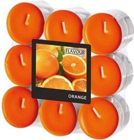 Gala Orange Teelicht Duftkerze, 18 Stück