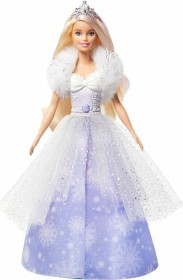 Mattel Barbie Dreamtopia Fashion Reveal Princess Blonde with Pink Hairstreak (GKH26)