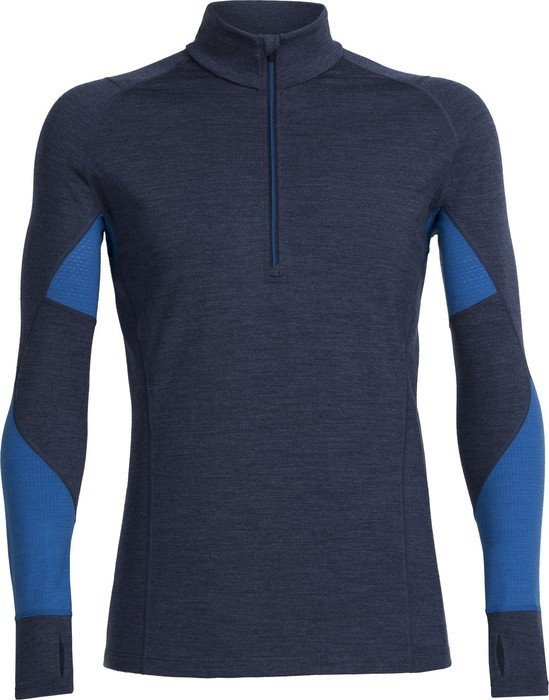 Icebreaker bodyfitzone winter zone half zip shirt long arm for Shirts for men with long arms