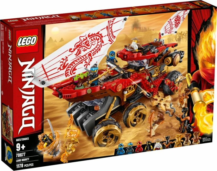 LEGO Ninjago - Land Bounty (70677)