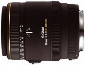 Sigma AF 70mm 2.8 EX DG macro for Canon EF black (270954)