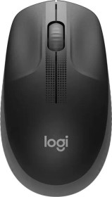 Logitech M190 Full-Size Wireless Mouse dunkelgrau, USB (910-005905)