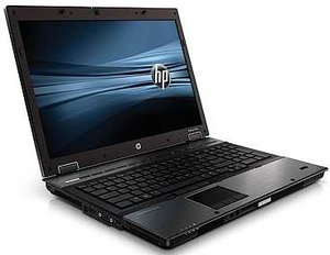 HP EliteBook 8740w, Core i5-540M, 4GB RAM, 500GB HDD (WD938EA)
