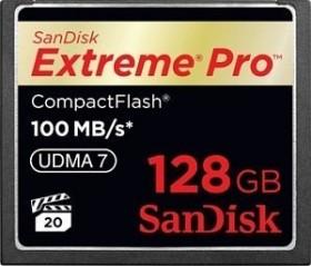 SanDisk R100/W100 CompactFlash Card [CF] Extreme PRO 128GB (SDCFXP-128G-X46)