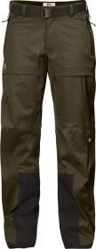 Fjällräven Keb Eco-Shell pant long dark olive (ladies) (F89602-633)