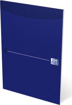 Oxford Office Essentials Briefblock blau A4 blanko, 50 Blatt (100050239)