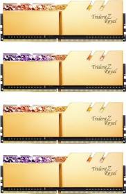 G.Skill Trident Z Royal gold DIMM Kit 32GB, DDR4-4000, CL17-17-17-37 (F4-4000C17Q-32GTRG)