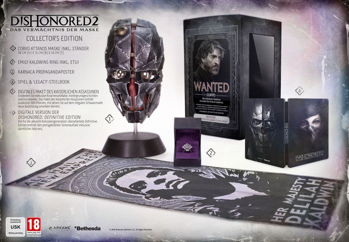 Dishonored 2 Collector's Edition PS4 Media Markt