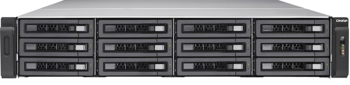 QNAP Turbo Enterprise Station TES-1885U-D1531-32GR 36TB, 2x 10Gb SFP+, 4x Gb LAN, 32GB Reg ECC RAM, 2HE