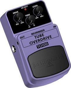 Behringer TO100 Tube Overdrive Effect pedal -- © Copyright 200x, Behringer International GmbH