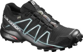 Salomon Speedcross 4 GTX black/metallic bubble blue (Damen) (383187)