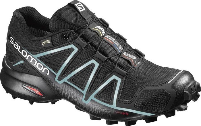 Salomon Speedcross 3, Damen Traillaufschuhe, Schwarz (Black/Black/Silver Metallic-X), 36 2/3 EU (4 Damen UK)
