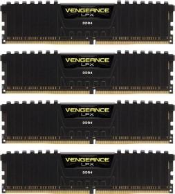 Corsair Vengeance LPX black DIMM kit 32GB, DDR4-3000, CL16-20-20-38 (CMK32GX4M4D3000C16)