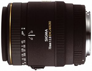 Sigma AF 70mm 2.8 EX DG macro for Sony A (270934)