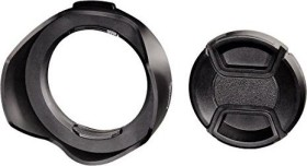 Hama lens hood with lens cover universal 58mm (93658)