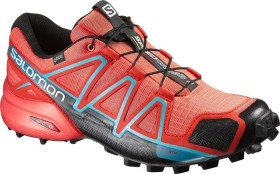 Salomon Speedcross 4 GTX coral punch/black/blue jay (Damen) (391836)