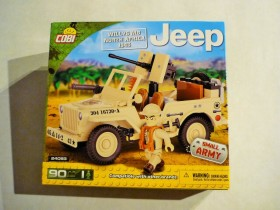 Cobi Small Army Jeep Willys MB North Africa 1943 (24093)