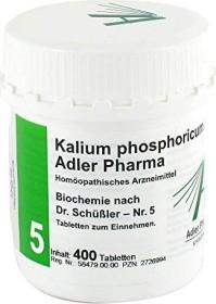 Adler 5 potassium phosphoricum D6 tablets, 400 pieces