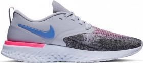 Nike Odyssey React Flyknit 2 indigo haze/black/iron purple/sapphire (Damen) (AH1016-500)