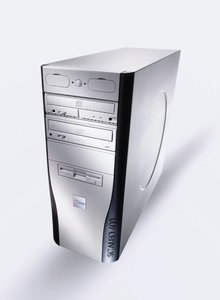 Fujitsu Scaleo 600ix, Pentium 4 3.20GHz