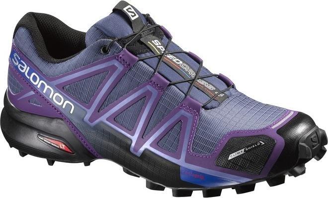 Salomon Damen Speedcross 4 CS W Traillaufschuhe, Blau (Slateblue/Cosmic Purple/Black), 38 2/3 EU
