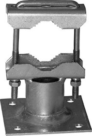 A.S. SAT pipe clamp for outrigger 2x Zahnschelle (46303)