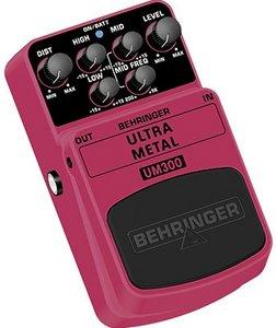 Behringer UM300 Ultra Metal -- © Copyright 200x, Behringer International GmbH